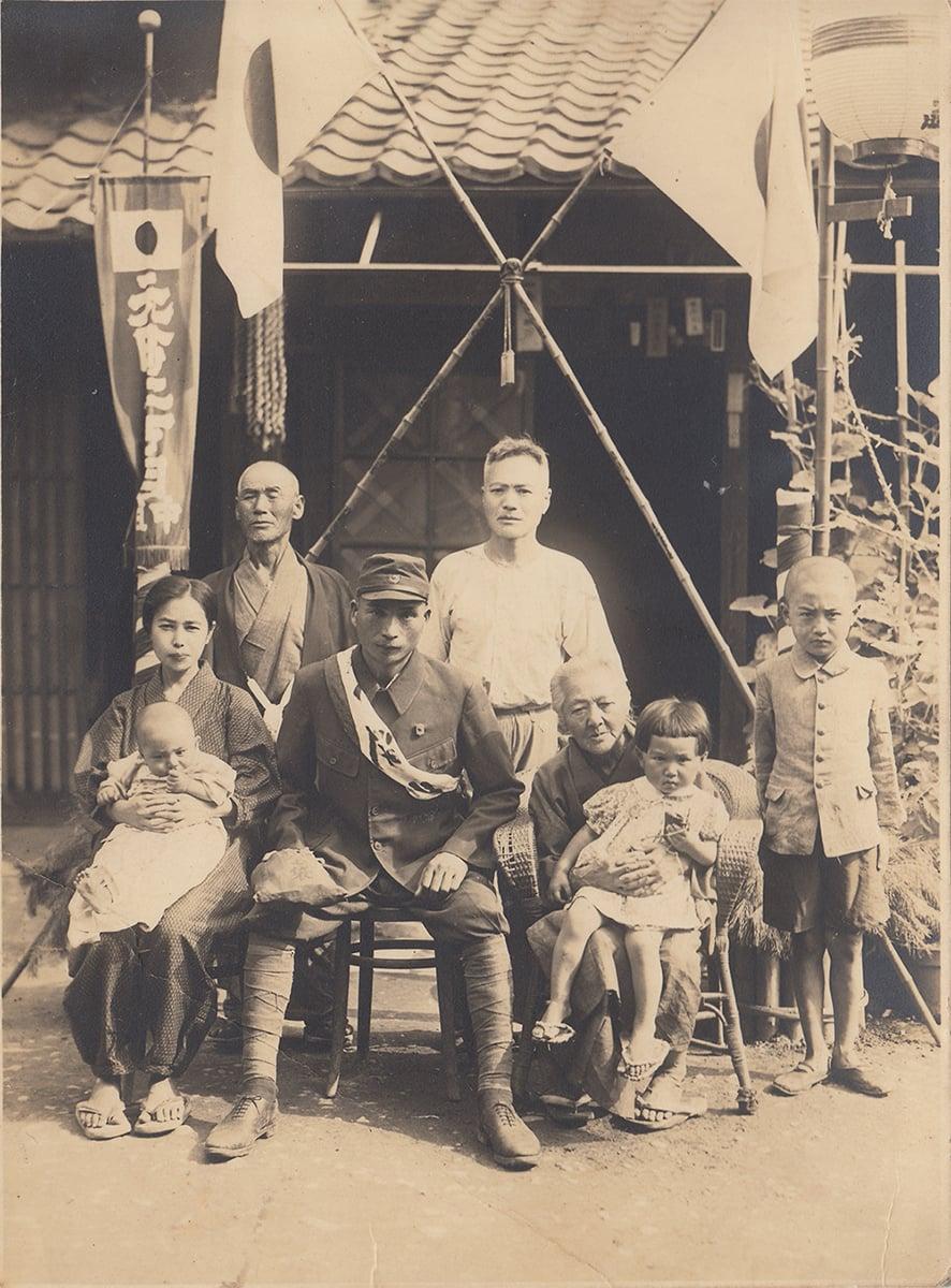 2代目 日比野五郎と親族